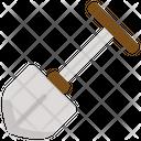 Shovel Hoe Garden Icon