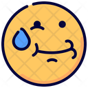 Hold Laughter Emoji Icon