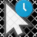 Arrow Hold Click Icon