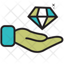 Hold Diamond Icon