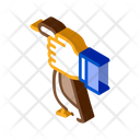 Hand Hold Duck Icon