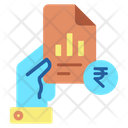 Ireport Document Rupees Hold Finance Report Finance Report Icon