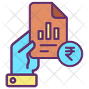 Hold Finance Report Icon