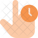 Hold finger Icon