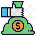 Hold Moneybag Icon