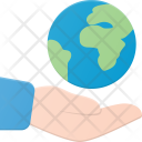 Hold the world Icon