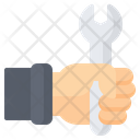 Hold Wrench Icon