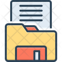 Holder Archive File Icon