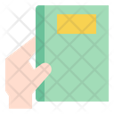 Book Sent Hand Icon