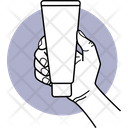Holding Cream Tube Cream Tube Tube Icon