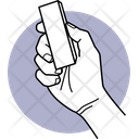 Holding Duster Duster Hand Icon