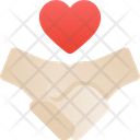 Holding hand Icon
