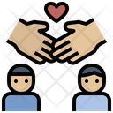 Holding Hand Love Promise Icon