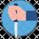 Knife Kitchen Utensil Weapon Icon