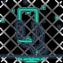 Holding Phone Icon