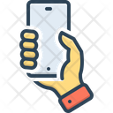 Holding Phone Hold Phone Phone Icon