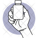 Holding Salt Container Icon