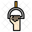 Holding Strap Hand Icon