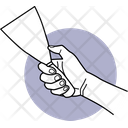 Holding Trovel Trovel Hand Icon