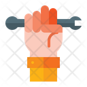 Holding Wrench Hold Wrench Wrench Icon