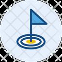 Hole Golf Icon
