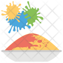 Holi Festival Event Icon