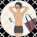 Holiday Man Summer Icon