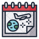 Holiday Date Schedule Icon