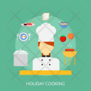 Holiday Cooking Recreation Icon