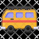 Vehicle Holiday Bus Transport Icon
