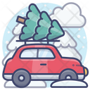 Holiday car Icon