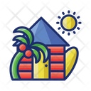Holiday Home Holiday House Vacation Home Icon