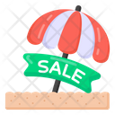 Summer Sale Holiday Sale Sale Label Icon