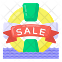 Summer Sale Holiday Sale Sale Coupon Icon