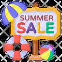 Sale Signboard Sale Board Holiday Sale Roadboard Icon