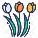 Holland Flower Tulips Icon