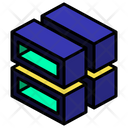 Stack Hollow Cut Icon