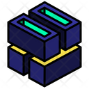 Stack Hollow Twist Icon