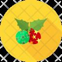 Holly Cherry Celebration Icon