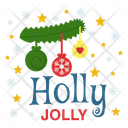 Holly Jolly Icon