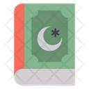 Holly Quran Holly Book Book Design Icon