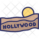 Hollywood Sign Icon