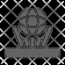 Hologram Future Technology Icon