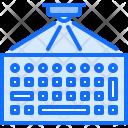 Hologram Keyboard Interface Icon