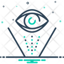 Hologram Cyber Device Icon