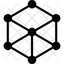 Hologram Cube Technology Icon