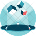 Hologram Technology Futuristic Icon