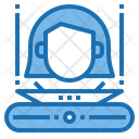 Hologram Artificial Intelligence Icon