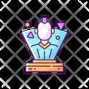 Color Icon Hologram Icon