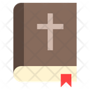Holy Bible Cross Icon